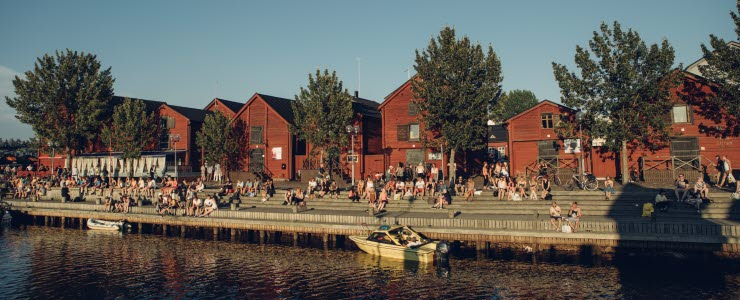 Kesä Oulussa. Kuvaoikeudet: Visit Oulu