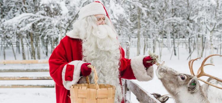 Joulupukki. Kuva: Visit Finland, Juha Kuva